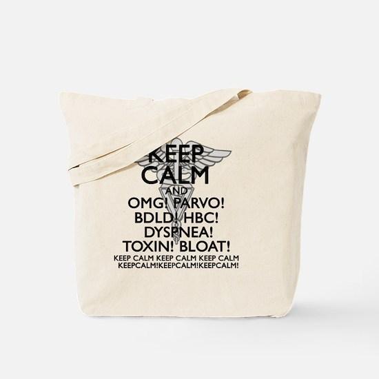Unique Keep calm carry Tote Bag