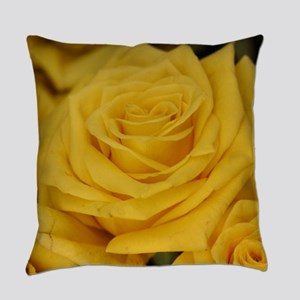 Yellow roses Everyday Pillow