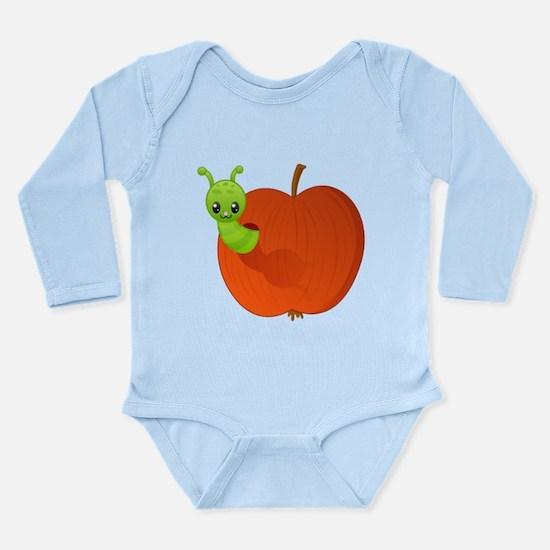 Worm in apple Body Suit