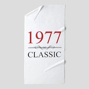Classic 1977 Beach Towel