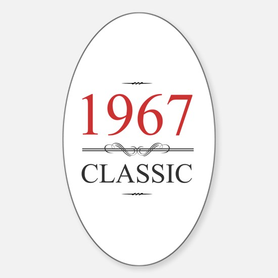 1967 Sticker (Oval)