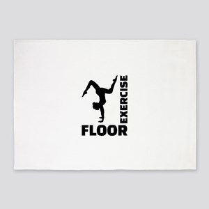 Floor exercise 5'x7'Area Rug