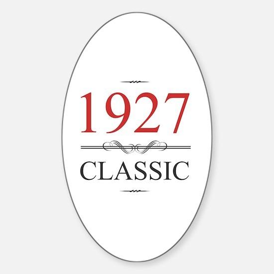 Unique 90 birthday Sticker (Oval)