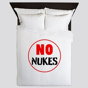 No Nukes Queen Duvet
