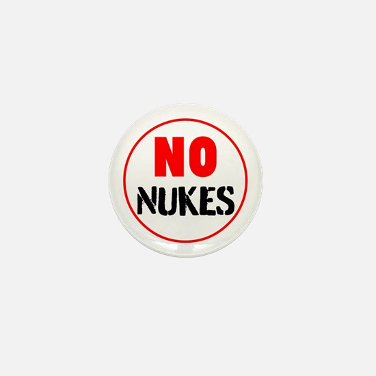 No Nukes Mini Button