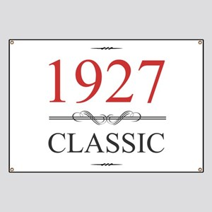 Classic 1927 Banner