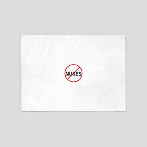 no nukes 5'x7'Area Rug
