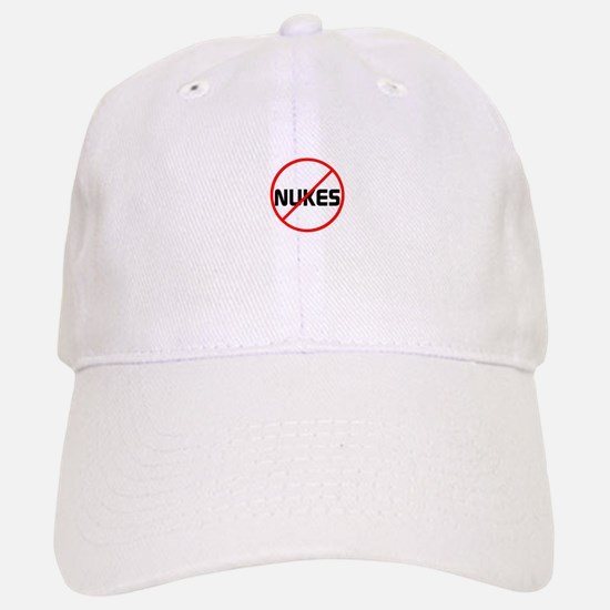 no nukes Baseball Baseball Baseball Cap