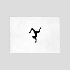 Floor exercises 5'x7'Area Rug