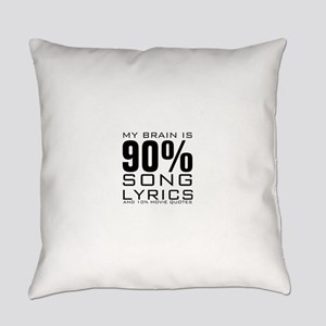 MY BRAIN IS 90% SONG LYRICS AND 10% MOVIE QUOTES E