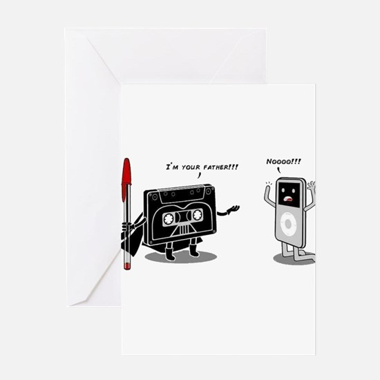 Pod I'm Your Father Greeting Card