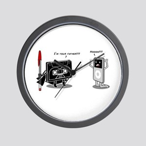 Pod I'm Your Father Wall Clock