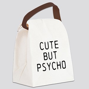 CUTE BUT PSYCHO Canvas Lunch Bag