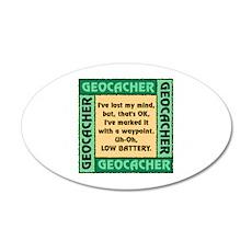 GEOCACHER Wall Decal