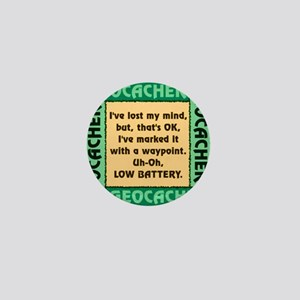 GEOCACHER Mini Button