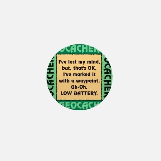GEOCACHER Mini Button