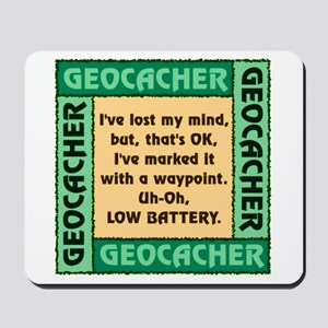 GEOCACHER Mousepad