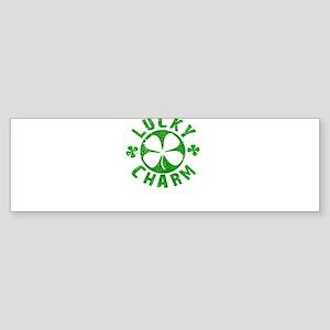 """Lucky Charm """"Shamrock"""" St. Patrick's Day Sticker ("""