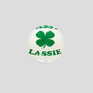 SASSY LASSIE ST. PATRICK'S DAY SHIRT Mini Button