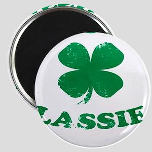 SASSY LASSIE ST. PATRICK'S DAY SHIRT Magnet
