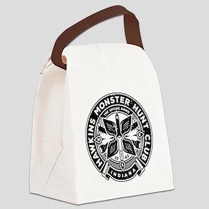 HAWKINS MONSTER HUNT CLUB Canvas Lunch Bag