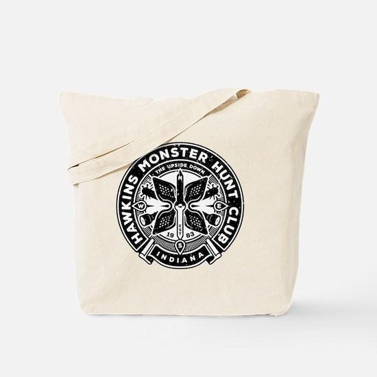 HAWKINS MONSTER HUNT CLUB Tote Bag