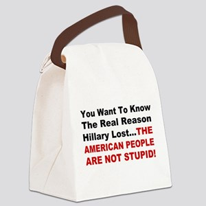 Hillary Lost Canvas Lunch Bag