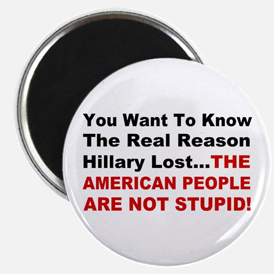 "Hillary Lost 2.25"" Magnet (10 pack)"
