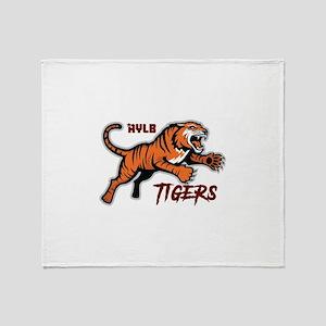 AYLB Tigers Throw Blanket