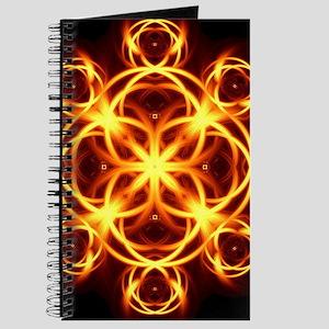 Fire Hearts Mandala Journal