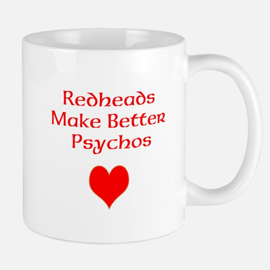 Redheads Make Better Psychos Mug