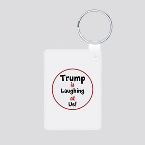 Trump is laughing at the USA Keychains