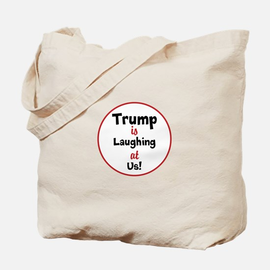 Trump is laughing at the USA Tote Bag