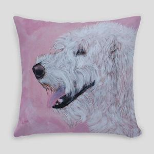 Cream Labradoodle Everyday Pillow