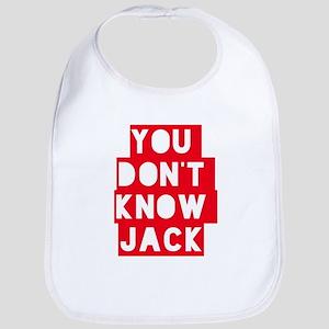 You Don't Know Jack Baby Bib