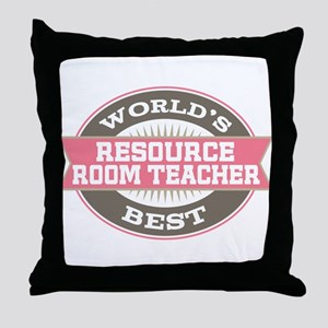 resource room teacher Throw Pillow