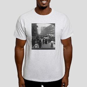 Clark Street Ash Grey T-Shirt