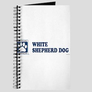 WHITE SHEPHERD DOG Journal