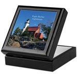 Eagle Harbor Lighthouse Keepsake Box