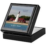 Fort Gratiot Lighthouse Keepsake Box