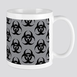 Biohazard Pattern Mugs