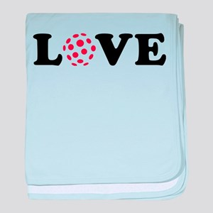 Floorball love baby blanket