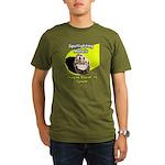 Spotlighting Morels Organic Men's T-Shirt (dark)