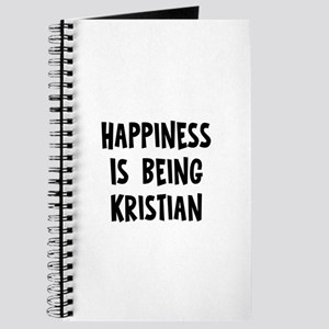 Happiness is being Kristian Journal