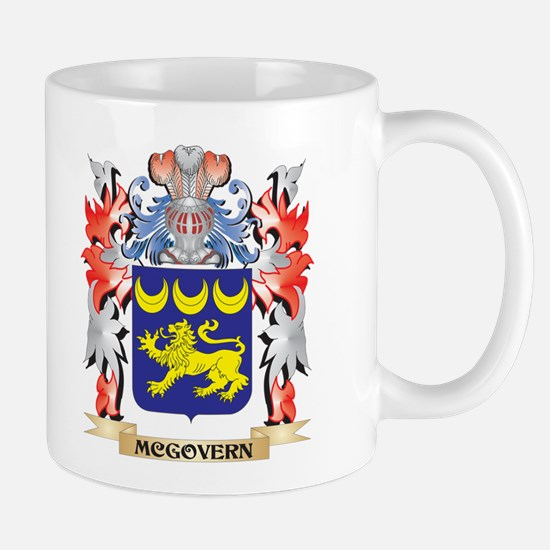 Mcgovern Coat of Arms - Family Crest Mugs