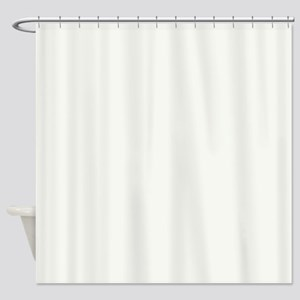 High Reflective White Shower Curtain