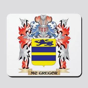 Mc-Gregor Coat of Arms - Family Crest Mousepad