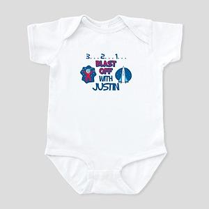 Blast Off with Justin Infant Bodysuit