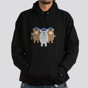 Bears Police Officer Squad Sweatshirt