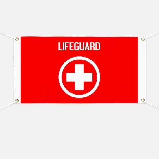 Lifeguard: Lifeguard (White) Banner